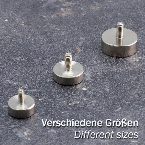Неодимови магнити с резба