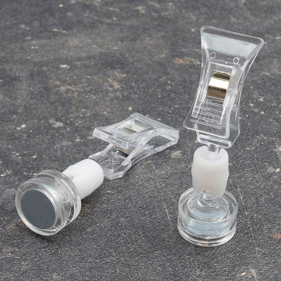 Холдер с малка щипка и магнитна основа