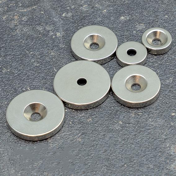 Неодимови магнити с отвор
